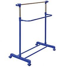 Держатель для одежды одинарный Maxplus 160 см синий